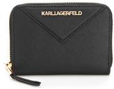 Karl Lagerfeld Women's K/Klassik Small Zip Wallet Black