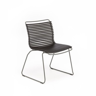 Ecc Lighting & Furniture Click Outdoor Dining Chair Black