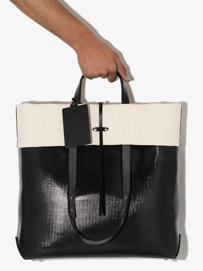 Thumbnail for your product : Maison Margiela Two-Tone Tote Bag