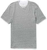 Brunello Cucinelli - Slim-fit Layered-trim Cotton-jersey T-shirt