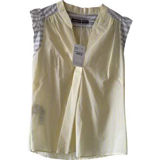 Comptoir des Cotonniers \N Yellow Cotton Top for Women