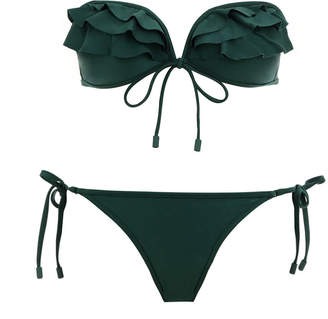 Zimmermann Verity Frill Bikini