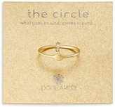 Dogeared Circle Ring
