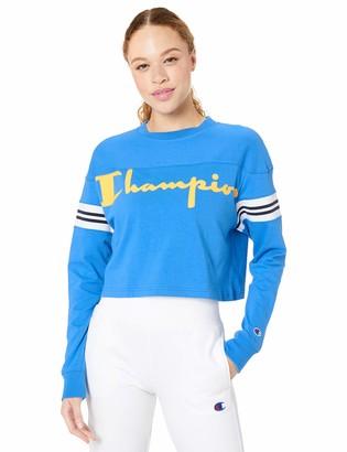 Champion Life Women's Heavyweight Jersey Exaggerated Sleeve TEE T-Shirt