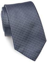 Ralph Lauren Diamond-Patterned Woven Silk Tie