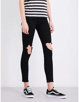 Ksubi Hi & Wasted distressed skinny high-rise jeans