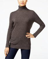 JM Collection Petite Turtleneck Sweater, Only at Macy's