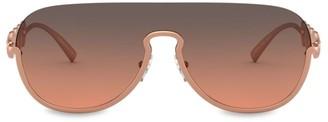 Versace Rock Ions Medusa Head Aviator Sunglasses