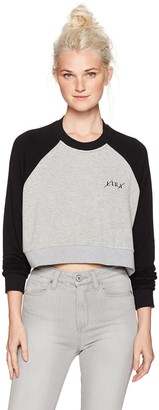 LIRA Women's Rico Cropped Raglan Top