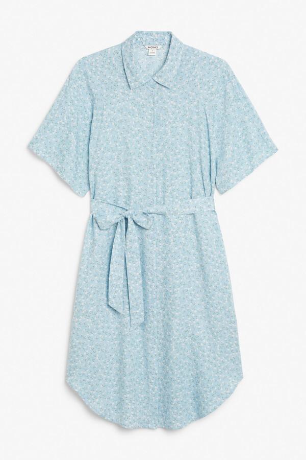 Thumbnail for your product : Monki Midi shirt dress