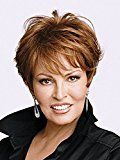 Hair U Wear Raquel Welch Excite Wig (R33 Dark Auburn)