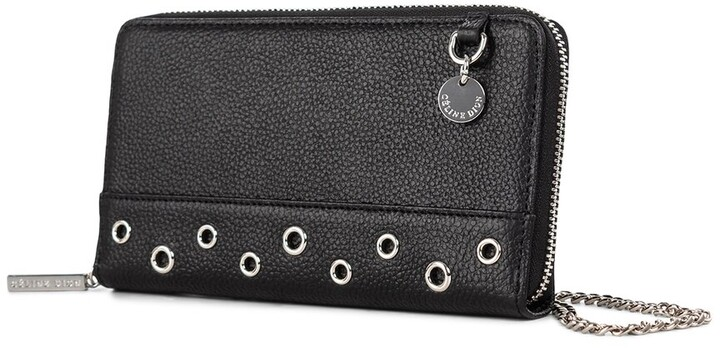 Thumbnail for your product : Celine Dion Falsetto Leather Wallet On Chain