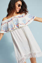 Saha Ruffled Off-The-Shoulder Cover-Up