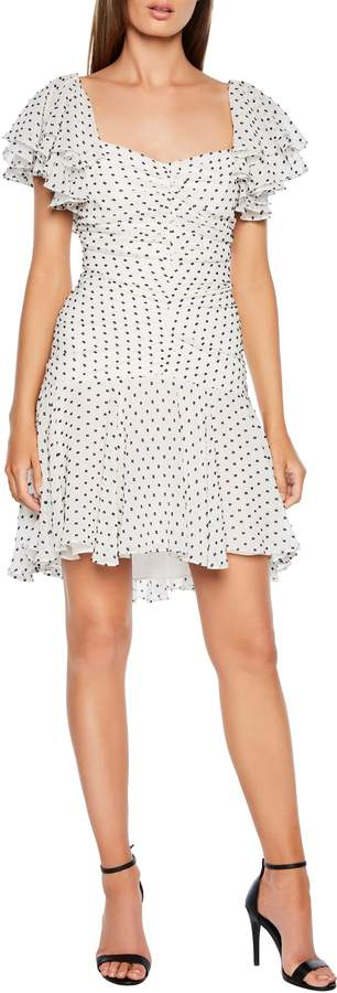 Bardot Jessi Ruched & Ruffled Party Dress