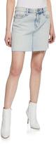 Current/Elliott The 5-Pocket Denim Mini Skirt