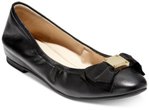 Cole Haan Black Ballet Flats For Women