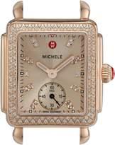 Michele Women's Deco 16 Swiss Quartz Rose-Tone Watch without Band (MW06V01B4971)