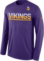 Nike Men's Minnesota Vikings Team Practice Long Sleeve T-Shirt