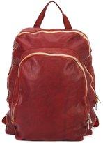 Guidi double zip backpack
