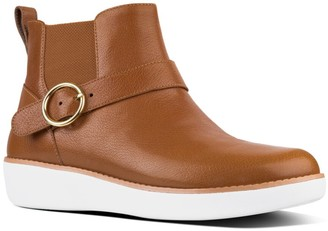 FitFlop Bria Buckle Leather Boot