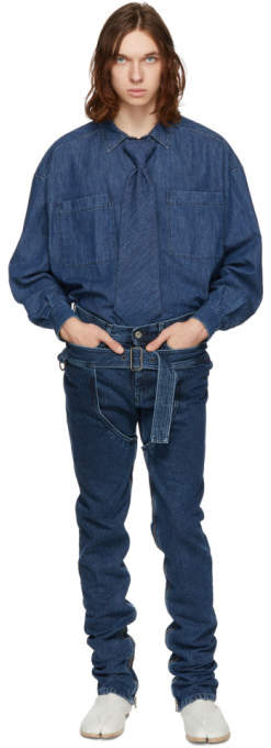 Diesel Red Tag Indigo Shayne Oliver Edition Cowgirl Skinny Jeans