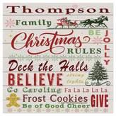 Thirstystone OCS Family Christmas 4-pc. Coaster Set