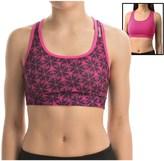 Reebok Shibori Everyday Reversible Sports Bra - Medium Impact, Racerback (For Women)