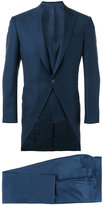 Canali three piece dinner suit - men - Cupro/Wool - 50