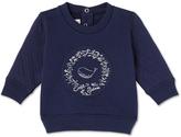 Petit Bateau Baby boys dual material sweatshirt