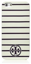 Tory Burch Stacked T Tromp Logo Hardshell Case For Iphone 5