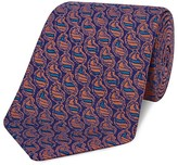 Turnbull & Asser Striped Paisley Classic Tie