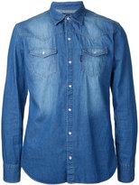 GUILD PRIME denim shirt - men - Cotton - 1