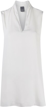 Lorena Antoniazzi sleeveless V-neck blouse