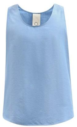 Marrakshi Life - Cotton-blend Tank Top - Blue