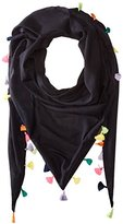 Michael Stars Women's Tassel Party Triangle Scarf