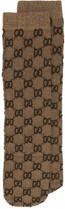 Gucci Gg Jacquard-knit Socks