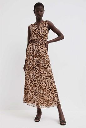 Witchery Sleeveless Print Dress