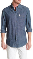 Ben Sherman Chambray Long Sleeve Regular Fit Shirt