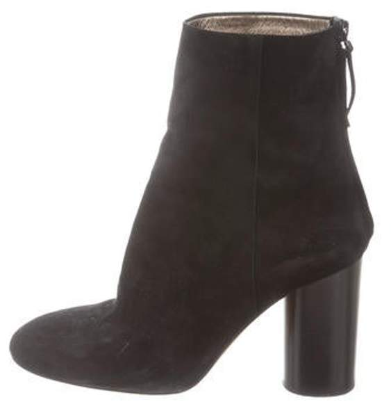 Isabel Marant Suede Ankle Boots Black Suede Ankle Boots
