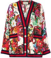 Gucci floral print cardigan