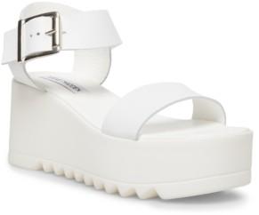 Steve Madden Women's Lake Treaded Flatform Sandals