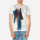 Nudie Jeans Men's Anders Pocket TShirt - Torn Paper