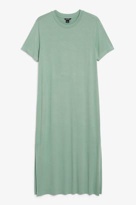 Monki Long t-shirt dress