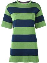 M Missoni striped T-shirt dress