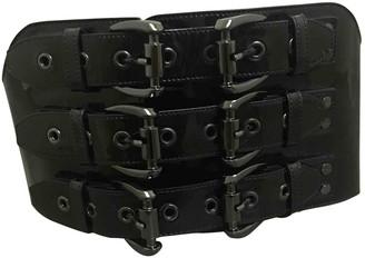 Burberry Black Patent leather Belts