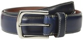 Torino Leather Co. 35mm Burnished Tumbled Veal w/ Polished Nickel Men's Belts