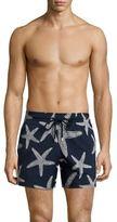 Vilebrequin Moorise Starfish-Print Swim Trunks