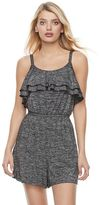 Juicy Couture Women's Marled Ruffle Romper