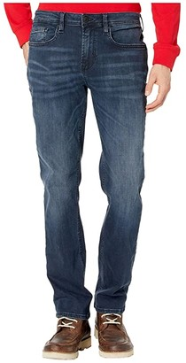 Buffalo David Bitton Evan-X Slim Straight Jeans in Whiskered and Sanded (Whiskered and Sanded) Men's Jeans