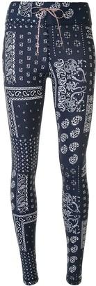 The Upside Yoga bandana-print leggings
